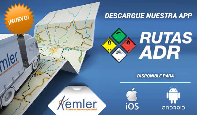 """Nueva App """"Rutas ADR"""""""